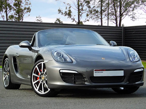 14(64) Boxster S (981), Agate Grey/Black