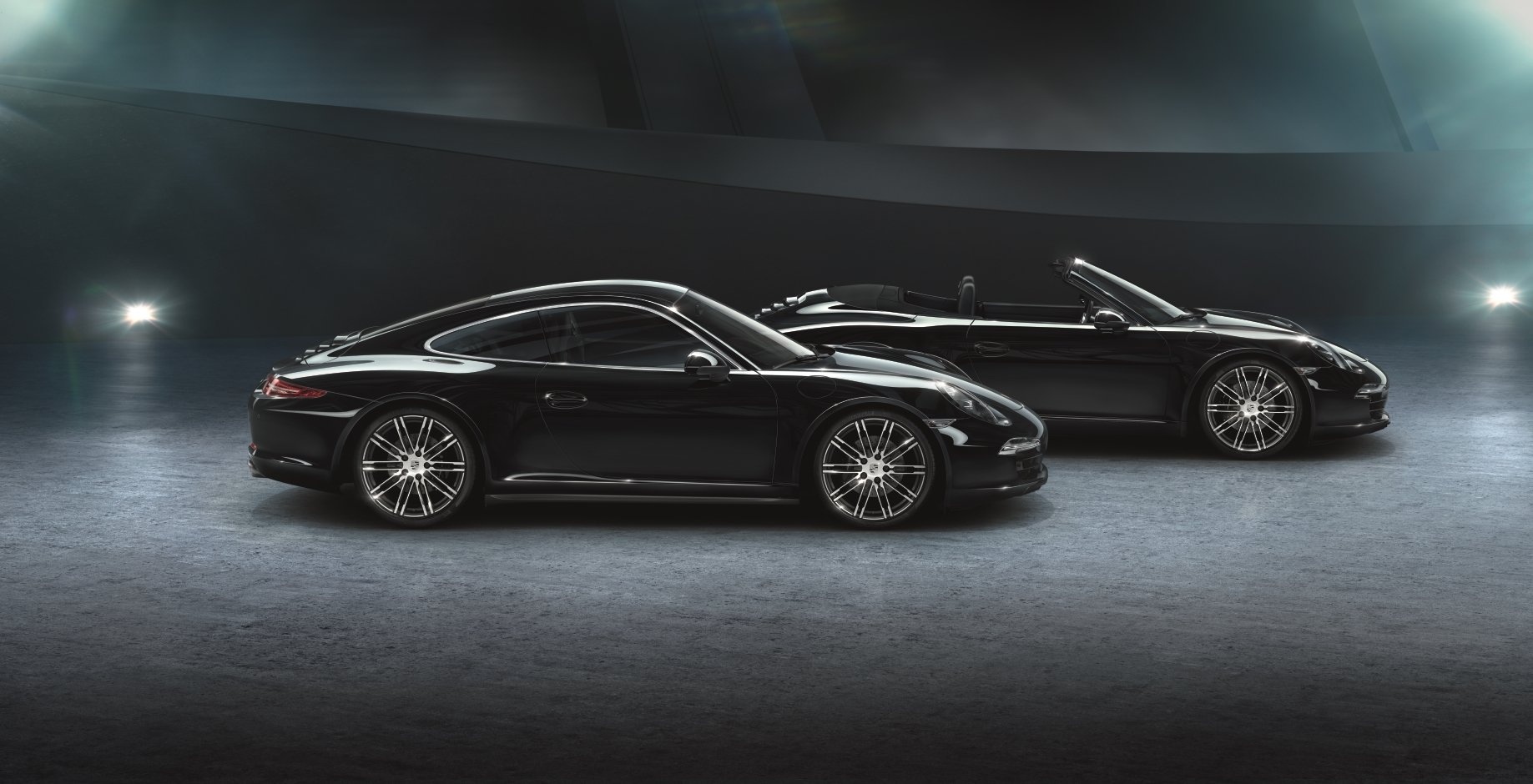 The new 911 Carrera Black Editions