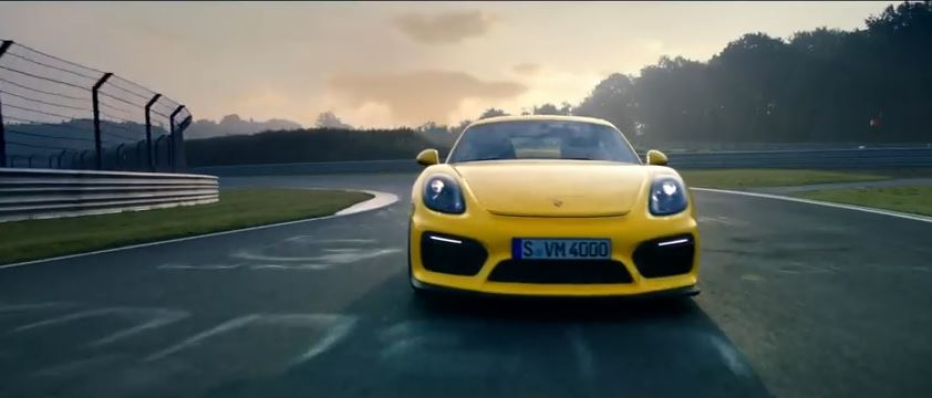 The new Porsche Cayman GT4 – Rebels, race on.