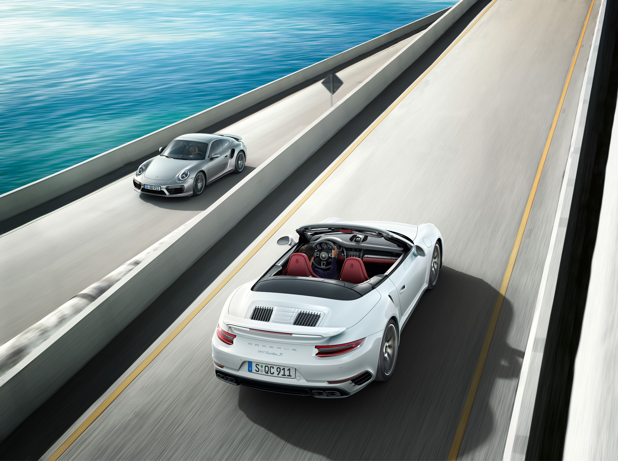 The new Porsche 911 Turbo