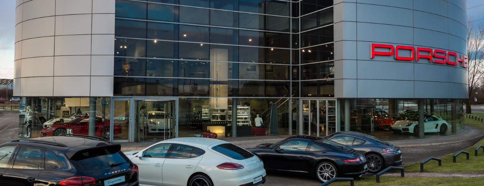 Porsche Centre Glasgow Homepage