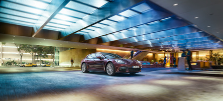 The new Panamera Sport Turismo. Venture on.
